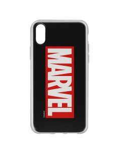 Husa iPhone X Marvel Silicon Marvel 001 Black