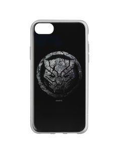Husa iPhone 8 / 7 / 6 Marvel Silicon Black Panther 013 Black