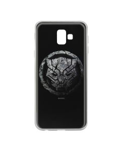 Husa Samsung Galaxy J6 Plus Marvel Silicon Black Panther 013 Black