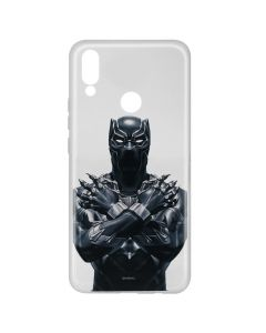 Husa Huawei P20 Lite Marvel Silicon Black Panther 012 Clear