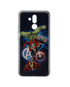 Husa Huawei Mate 20 Lite Marvel Silicon Avengers 001 Navy Blue