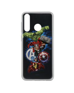 Husa Huawei P30 Lite Marvel Silicon Avengers 001 Navy Blue