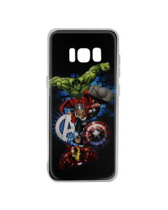 Husa Samsung Galaxy S8 G950 Marvel Silicon Avengers 001 Navy Blue