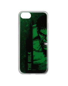 Husa iPhone 8 / 7 / 6 Marvel Silicon Hulk 001 Green