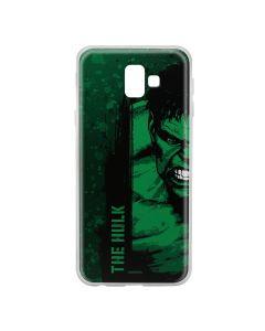 Husa Samsung Galaxy J6 Plus Marvel Silicon Hulk 001 Green