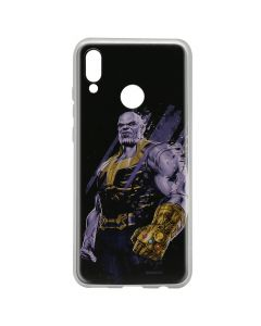 Husa Huawei P Smart (2019) / Honor 10 Lite Marvel Silicon Thanos 003 Black