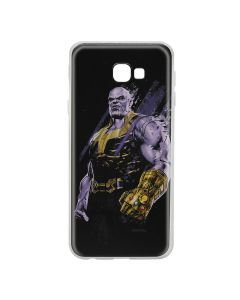 Husa Samsung Galaxy J4 Plus Marvel Silicon Thanos 003 Black