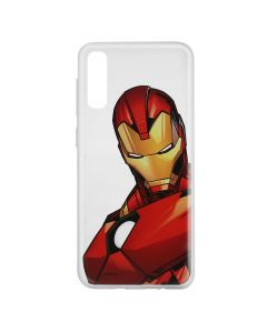 Husa Samsung Galaxy A50 Marvel Silicon Iron Man 005 Clear
