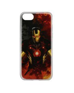Husa iPhone SE 2 / 8 / 7 Marvel Silicon Iron Man 003