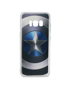 Husa Samsung Galaxy S8 G950 Marvel Silicon Captain America 005 Blue