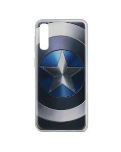 Husa Samsung Galaxy A50 Marvel Silicon Captain America 005 Blue