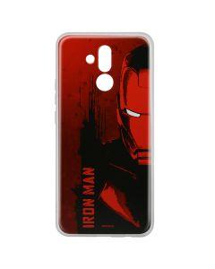 Husa Huawei Mate 20 Lite Marvel Silicon Iron Man 004 Red