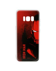 Husa Samsung Galaxy S8 G950 Marvel Silicon Iron Man 004 Red