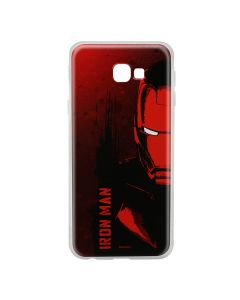 Husa Samsung Galaxy J4 Plus Marvel Silicon Iron Man 004 Red