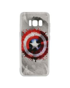 Husa Samsung Galaxy S8 G950 Marvel Silicon Captain America 019 Gray