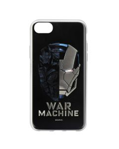 Husa iPhone 8 / 7 Marvel Silicon War Machine 001 Silver