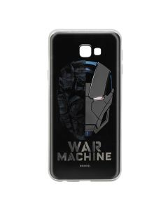 Husa Samsung Galaxy J4 Plus Marvel Silicon War Machine 001 Silver