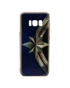 Husa Samsung Galaxy S8 G950 Marvel Silicon Captain Marvel 001 Gold