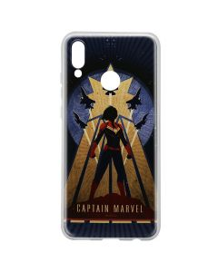 Husa Huawei P20 Lite Marvel Silicon Captain Marvel 002 Navy Blue