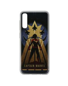 Husa Samsung Galaxy A50 Marvel Silicon Captain Marvel 002 Navy Blue