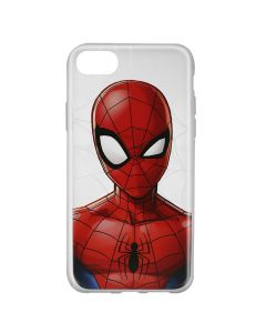 Husa iPhone 8 / 7 / 6 Marvel Silicon Spider-Man 012 Clear