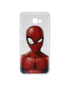 Husa Samsung Galaxy J4 Plus Marvel Silicon Spider-Man 012 Clear