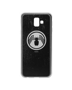 Husa Samsung Galaxy J6 Plus Marvel Silicon Venom 001 Black