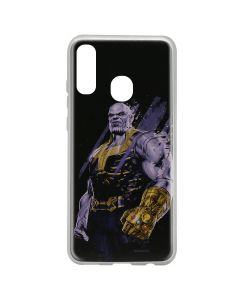 Husa Samsung Galaxy A20e Marvel Silicon Thanos 003 Black