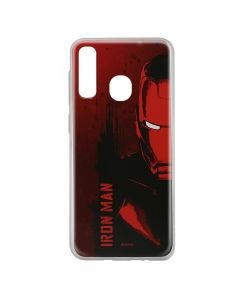 Husa Samsung Galaxy A20e Marvel Silicon Iron Man 004 Red