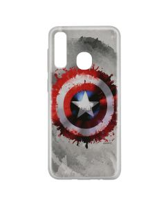 Husa Samsung Galaxy A20e Marvel Silicon Captain America 019 Gray