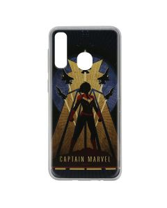 Husa Samsung Galaxy A20e Marvel Silicon Captain Marvel 002 Navy Blue