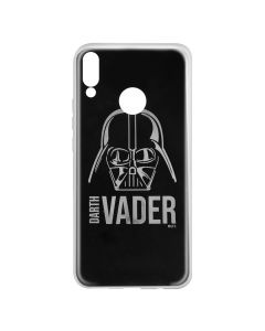 Husa Huawei P20 Lite Star Wars Silicon Luxury Darth Vader 010 Silver
