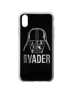 Husa iPhone X Star Wars Silicon Luxury Darth Vader 010 Silver