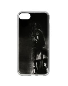 Husa iPhone SE 2020 / 8 / 7 Star Wars Silicon Darth Vader 004 Black