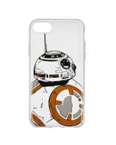 Husa iPhone 8 / 7 / 6 Star Wars Silicon BB-8 009 Clear