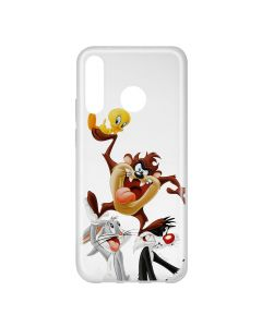 Husa Huawei P30 Lite Looney Tunes Silicon Looney Tunes 001 Clear