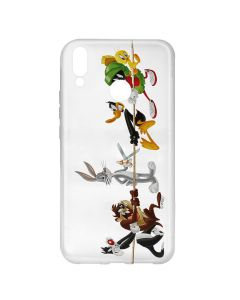 Husa Huawei P20 Lite Looney Tunes Silicon Looney Tunes 009 Clear
