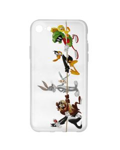 Husa iPhone 8 / 7 Looney Tunes Silicon Looney Tunes 009 Clear