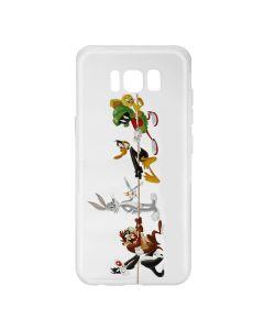 Husa Samsung Galaxy S8 G950 Looney Tunes Silicon Looney Tunes 009 Clear