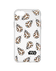 Husa iPhone 8 / 7 / 6 Star Wars Silicon BB-8 004 Clear