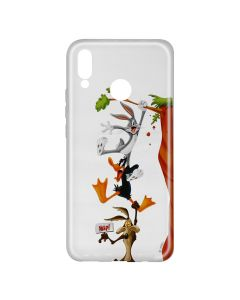 Husa Huawei P20 Lite Looney Tunes Silicon Looney Tunes 005 Clear