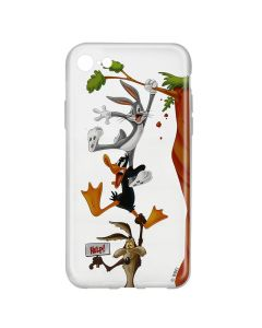 Husa iPhone 8 / 7 Looney Tunes Silicon Looney Tunes 005 Clear