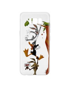 Husa Samsung Galaxy S8 G950 Looney Tunes Silicon Looney Tunes 005 Clear