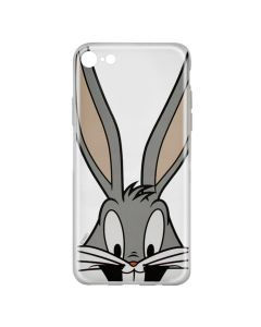 Husa iPhone 8 / 7 Looney Tunes Silicon Bugs 001 Clear