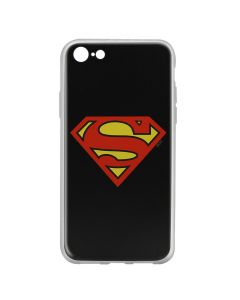 Husa iPhone 8 / 7 DC Comics Silicon Superman 002 Black