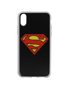 Husa iPhone X DC Comics Silicon Superman 002 Black