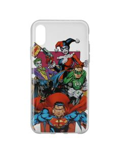 Husa iPhone X DC Comics Silicon Justice League 004 Clear