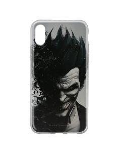 Husa iPhone X DC Comics Silicon Joker 002 Gray