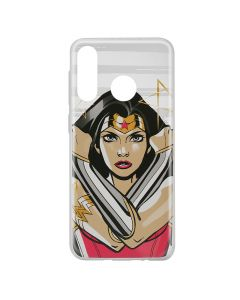 Husa Huawei P30 Lite DC Comics Silicon Wonder Woman 003 Clear