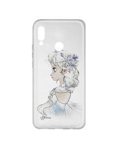 Husa Huawei P20 Lite Disney Silicon Elsa 010 Clear